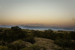 Rock Climbing Photo: Sangre de Cristo Range from our campsite at Penite...