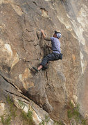 "Rock Climbing Photo: Danny soloing ""Flies on the Wound"". Phot..."