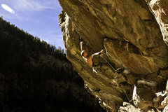 Rock Climbing Photo: Officer Friendly.