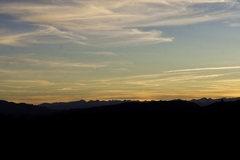 Rock Climbing Photo: Sunset at the Bank CG.