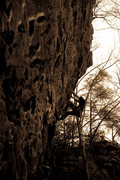 Rock Climbing Photo: Fuzzy