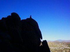 Rock Climbing Photo: Riding the Elephant.