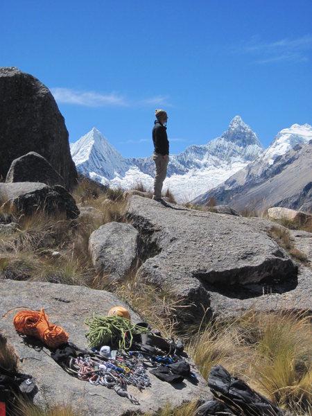 Paron Valley, Peru.