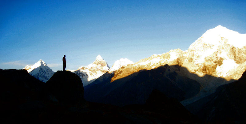 Rock Climbing Photo: Sunset in the Paron