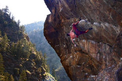 Rock Climbing Photo: Sam on Slammer.