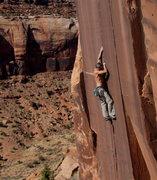 Rock Climbing Photo: Myself on Electric.    Dan Schwarz photo