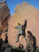 """Rock Climbing Photo: Rod embracing """"All Embracing""""."""