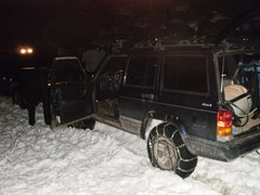 Rock Climbing Photo: At least it's warm 4wheel'n. Not home yet. Great a...