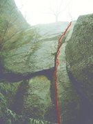 Rock Climbing Photo: Microwave Crack