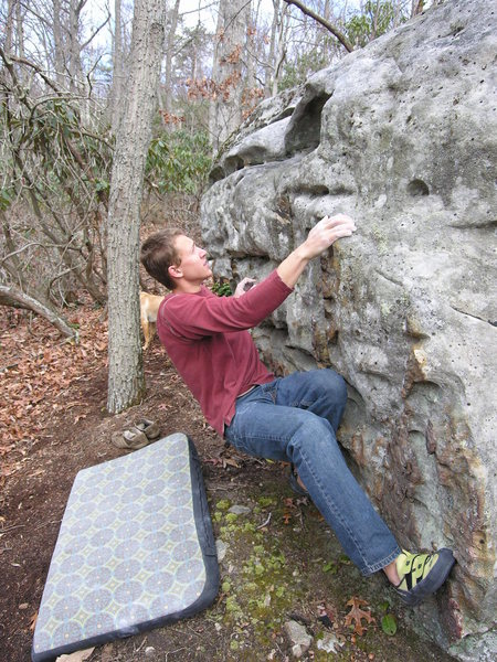 """Rock Climbing Photo: Tyler Christensen on """"Nuts and Volts"""" (V..."""