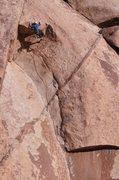 Rock Climbing Photo: Jared Vagy on the direct finish.