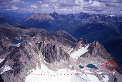 Rock Climbing Photo: McTech Arete, Crescent Spire Photo by MP contribut...