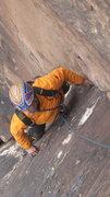 """Rock Climbing Photo: Beulah""""s book 3rd pitch"""