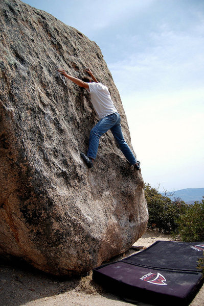 Rock Climbing Photo: Good for beginner boulderers.