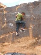 Rock Climbing Photo: Center Start