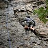 My first climb in Big Cottonwood Canyon.