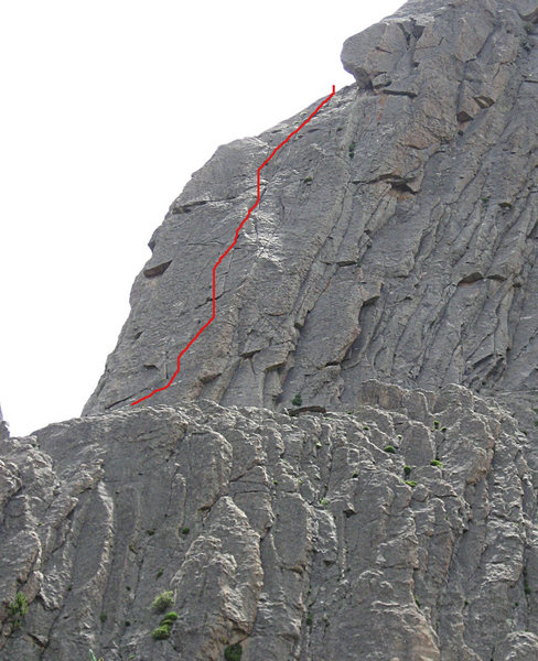 The 5.8 pitch starting at Stagway.