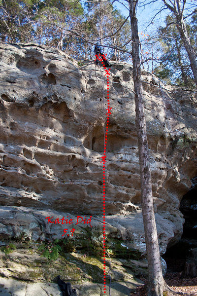 Rock Climbing Photo: Katie Did 5.9
