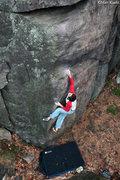 Rock Climbing Photo: Tony B. styling the beginning of Sex and Chocolate...