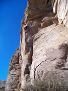 Rock Climbing Photo: One of the best splitters on Lemmon. I M O