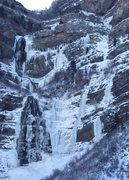 Rock Climbing Photo: Bridal Veil Left, Bridal Veil Right and White Nigh...
