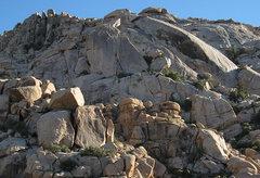 Rock Climbing Photo: Rattlesnake Buttress and Dune. Photo by Blitzo.