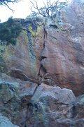 Rock Climbing Photo: pretty nice problem but bad landing as a ledge sti...