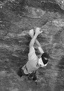 Rock Climbing Photo: Danny boulderng at the Tuolumne Boulder. Photo by ...