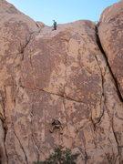 Rock Climbing Photo: Brett on LLC with me belaying