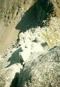 Rock Climbing Photo: From the Upper Noname/Jagged Pass. Nice climb.