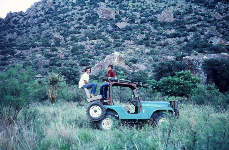 This is the rig I used when I was teaching climbing just north of Big Bend.<br> She was a beaut as well as a brute!