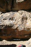 Rock Climbing Photo: Action Figure Topo