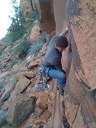 Rock Climbing Photo: onsite attempt of the fox 10.d