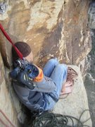 Rock Climbing Photo: nap time on triassic sands