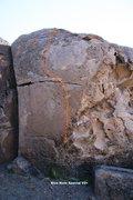 Rock Climbing Photo: Back Walls Right Topo
