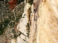 Rock Climbing Photo: linked almost every pitch on solar slab