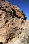 Rock Climbing Photo: One Note Right Topo