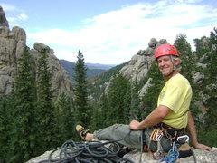 Rock Climbing Photo: Climbing in South Dakota