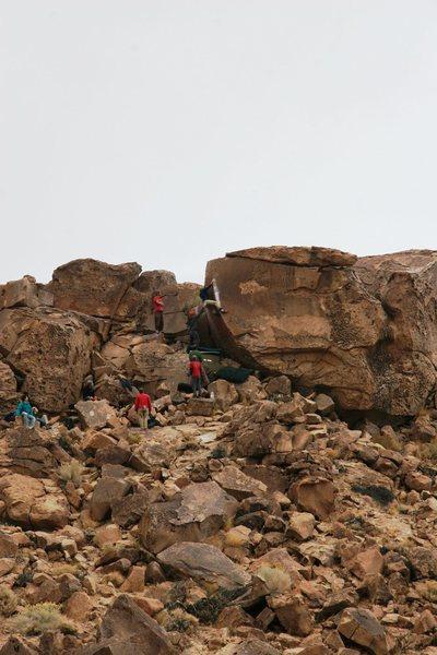 Rock Climbing Photo: The ever popular Atari V6