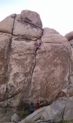 Rock Climbing Photo: Phil  Howerzyl cruising.