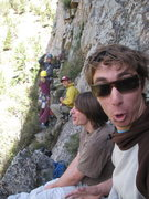 Rock Climbing Photo: Line up