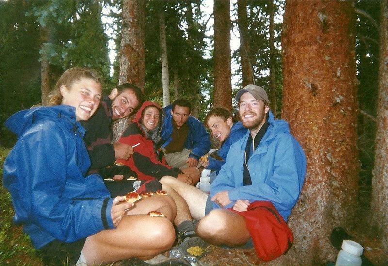 Outward Bound Group--P.B. & Crackers...mmmnnnn!