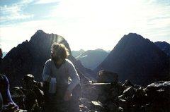Rock Climbing Photo: On top of Vestal, I think...