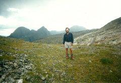 Rock Climbing Photo: Near Hunchback Pass.