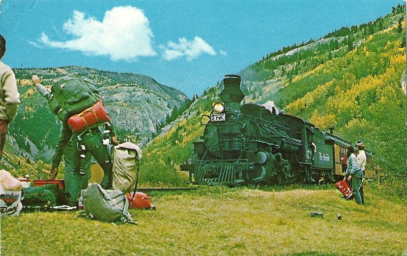 Rock Climbing Photo: Stop the train!