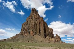 Rock Climbing Photo: Shiprock, NM.