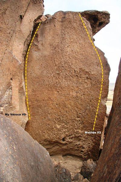 Cracks on the Rim Right Side Left End Topo