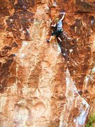 Rock Climbing Photo: Nicole on Yaak Crack