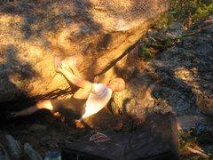 Rock Climbing Photo: Blake Workman starting