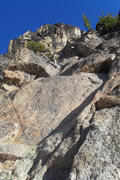 Rock Climbing Photo: The start of  the S Arete route,